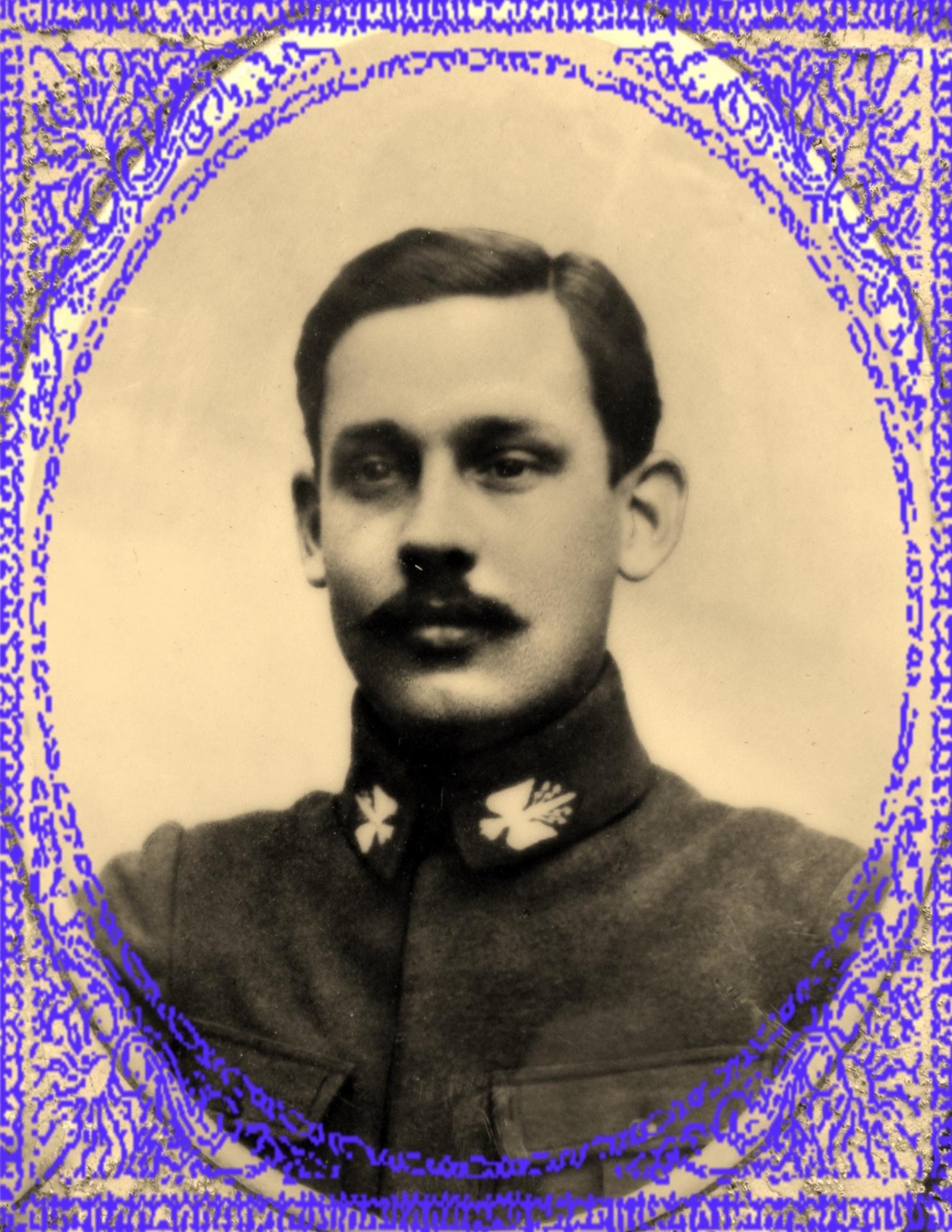 Alfred duhautois mort pour la france 1891 1917 2 encadre