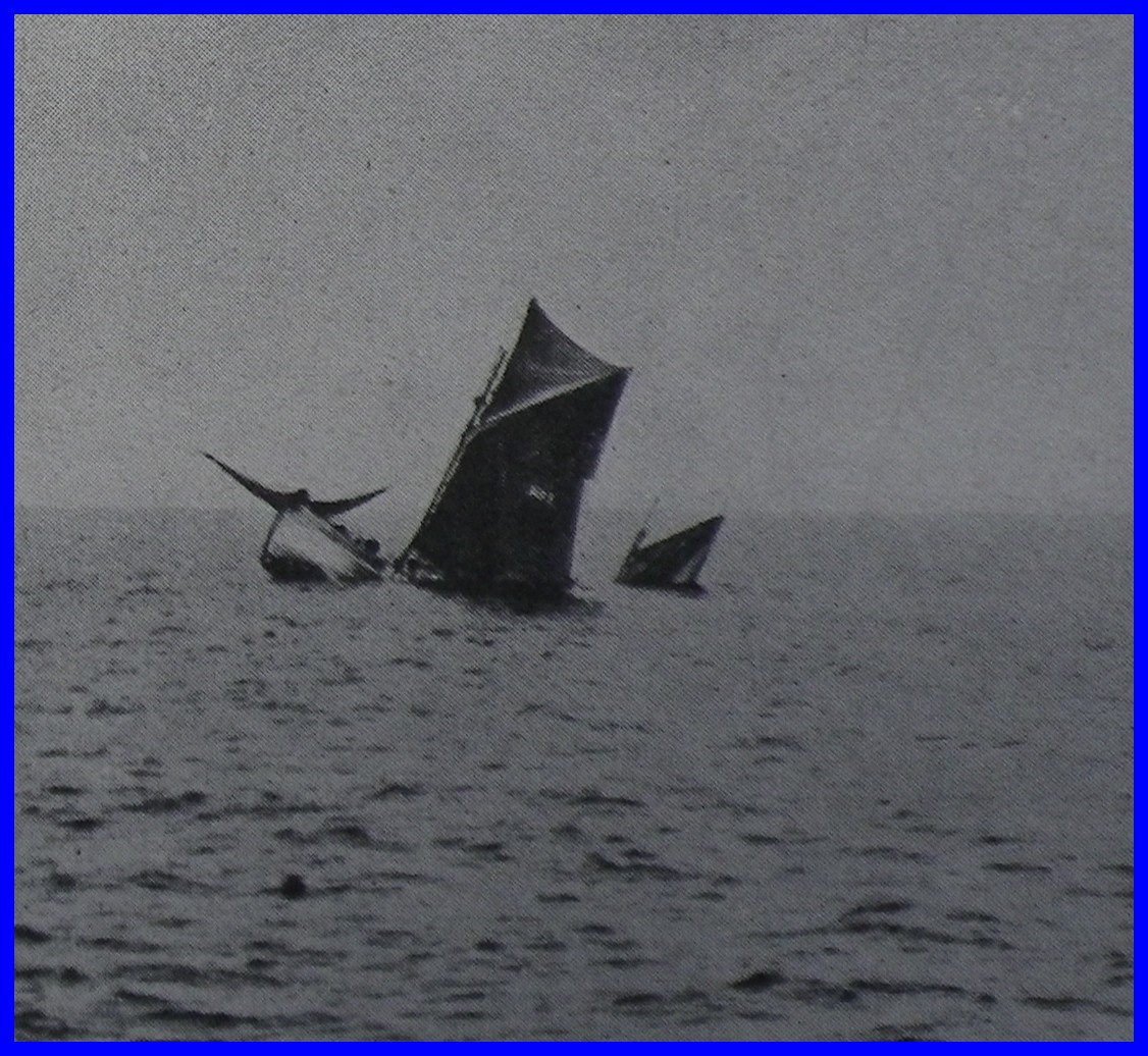 Bateau de peche de gravelines coule par les allemands 14 18 encadre