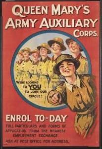 Calais 14 18 auxiliaires feminines armee britannique