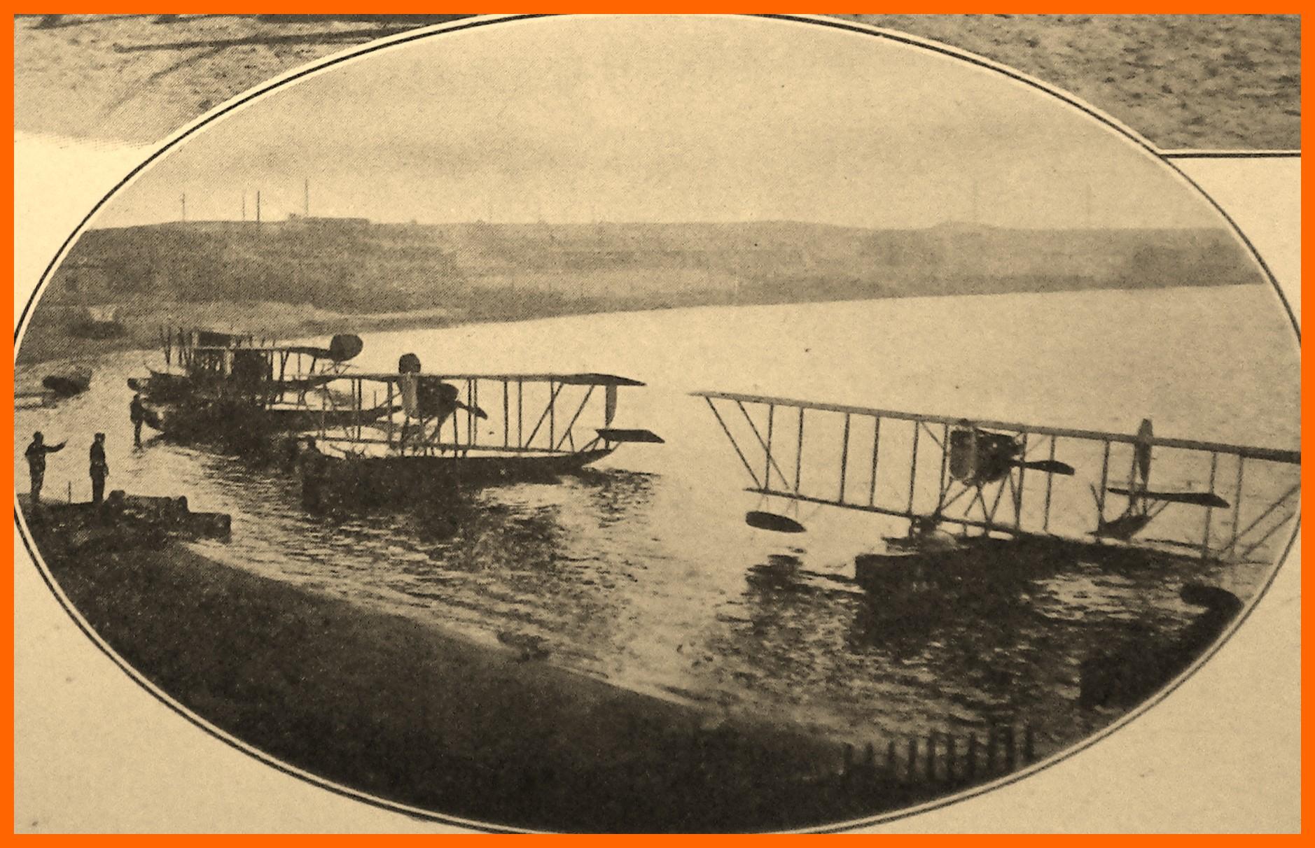 Calais 14 18 escadrilles belges au camp du beau marais rn 1914 2 encadre 1