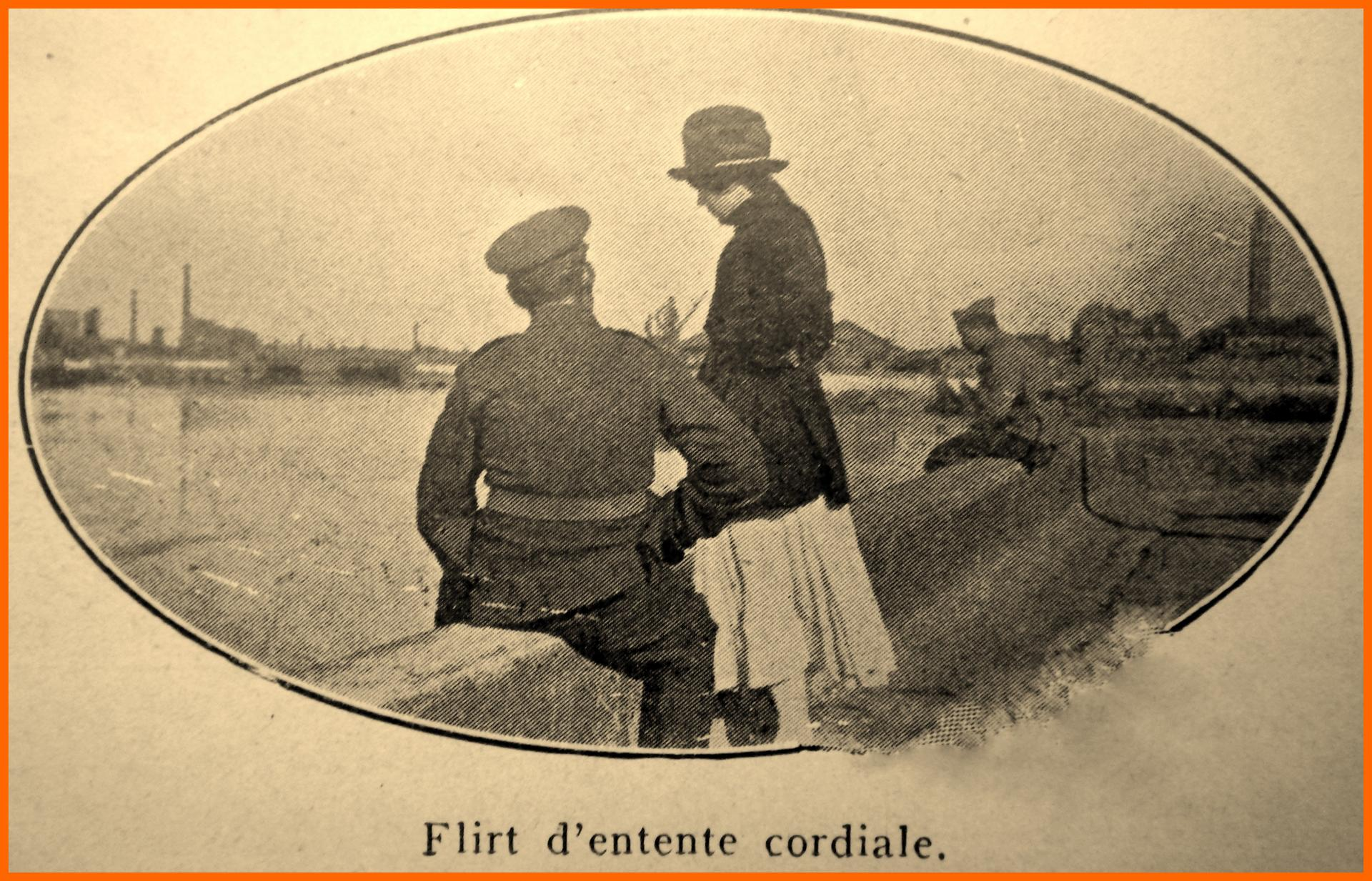 Calais 14 18 flirt d entente cordiale encadre 1