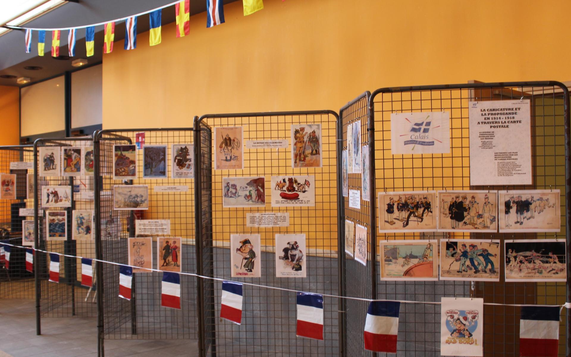Calais 14 18 humour et propagande 14 18