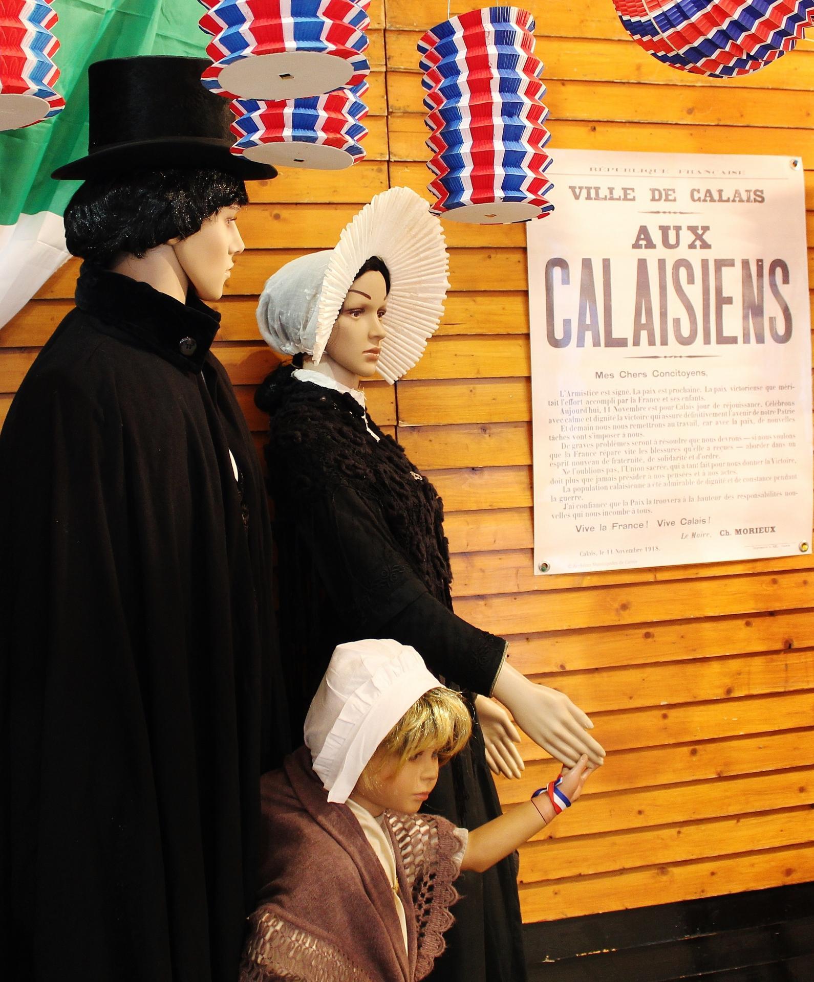 Calais 14 18 l affiche de l armistice