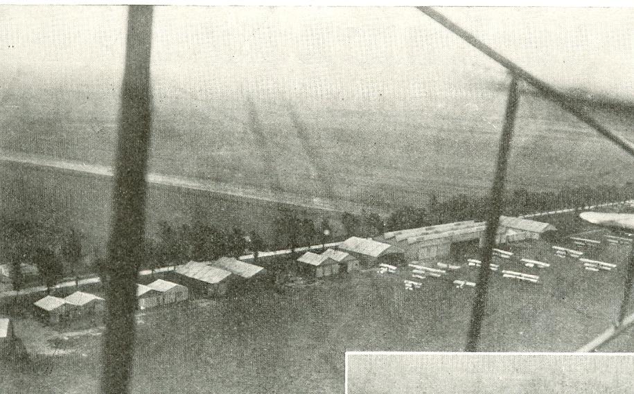 Calais 14 18 le champ d aviation de calais