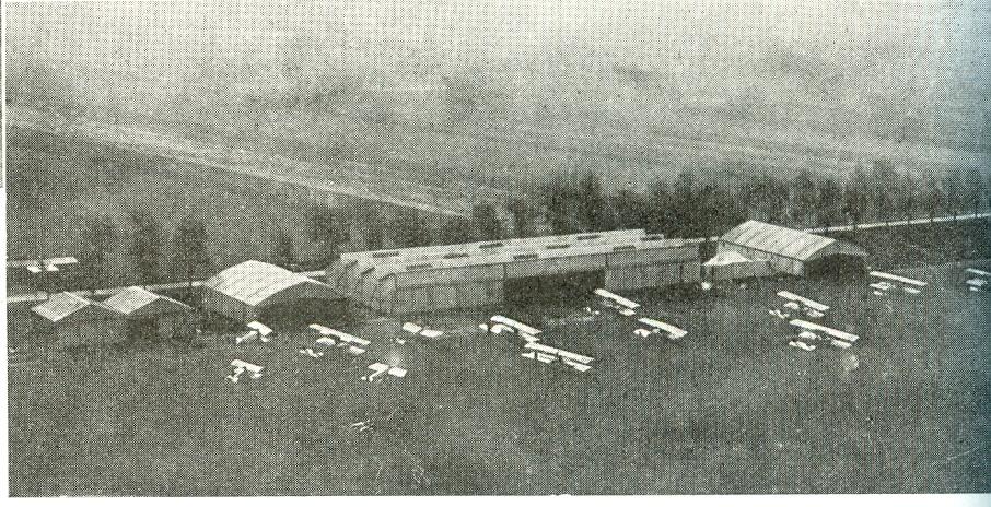 Calais 14 18 le terrain d aviation sur calais 2
