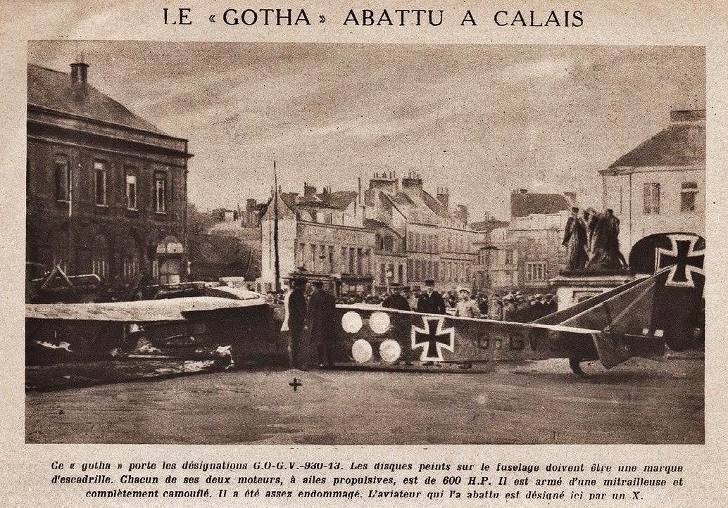 Calais 14 18 le gotha abattu