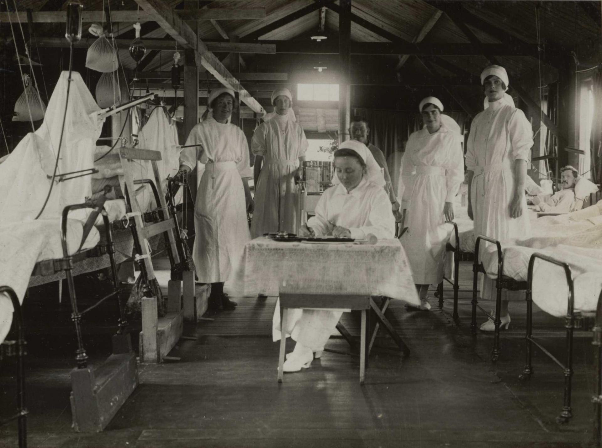 Calais 14 18 les grands blesses hopital de la duchesse de sutherland juin 1917