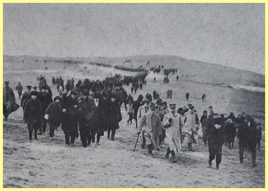 Calais 14 18 marechal foch au cap blanc nez encadre