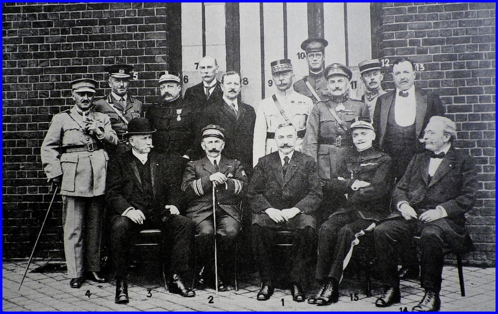 Calais 14 18 notables photographies le 14 juillet 1918 encadre