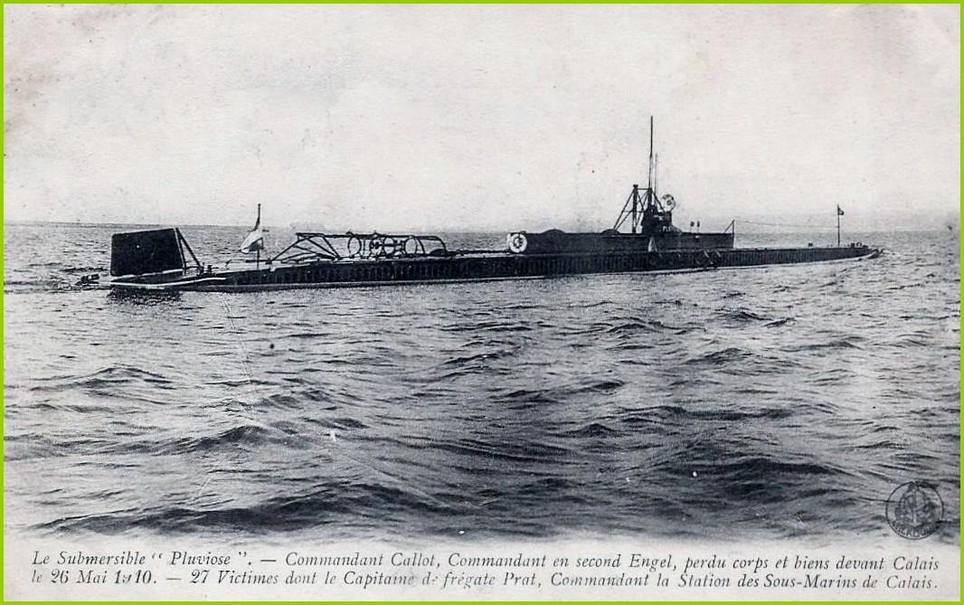 Calais 14 18 submersible pluviose encadre