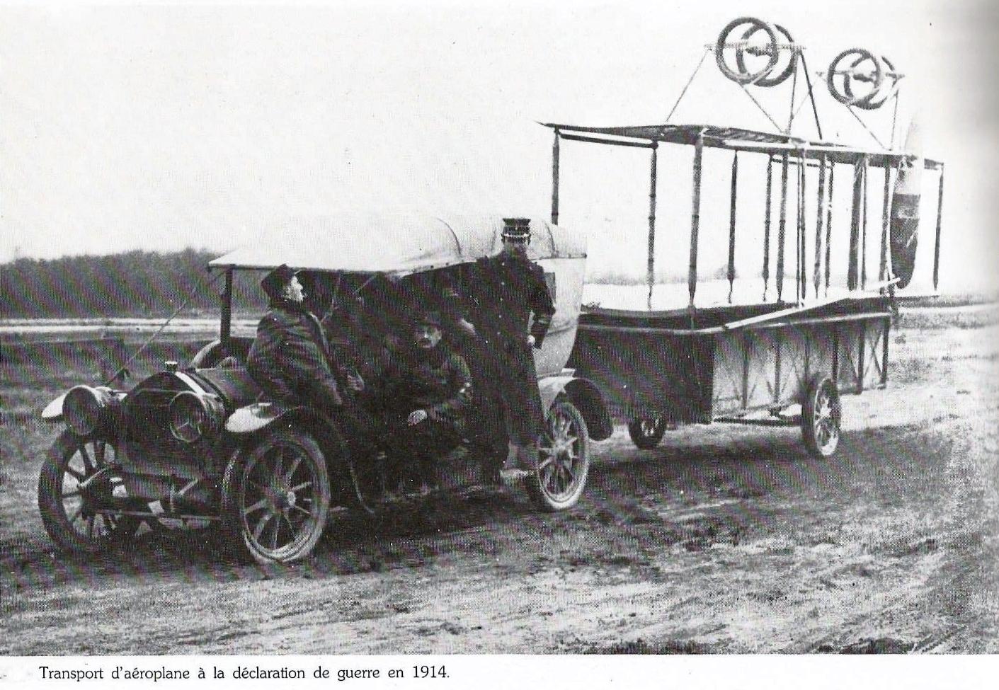 Calais 14 18 transport d aeroplane