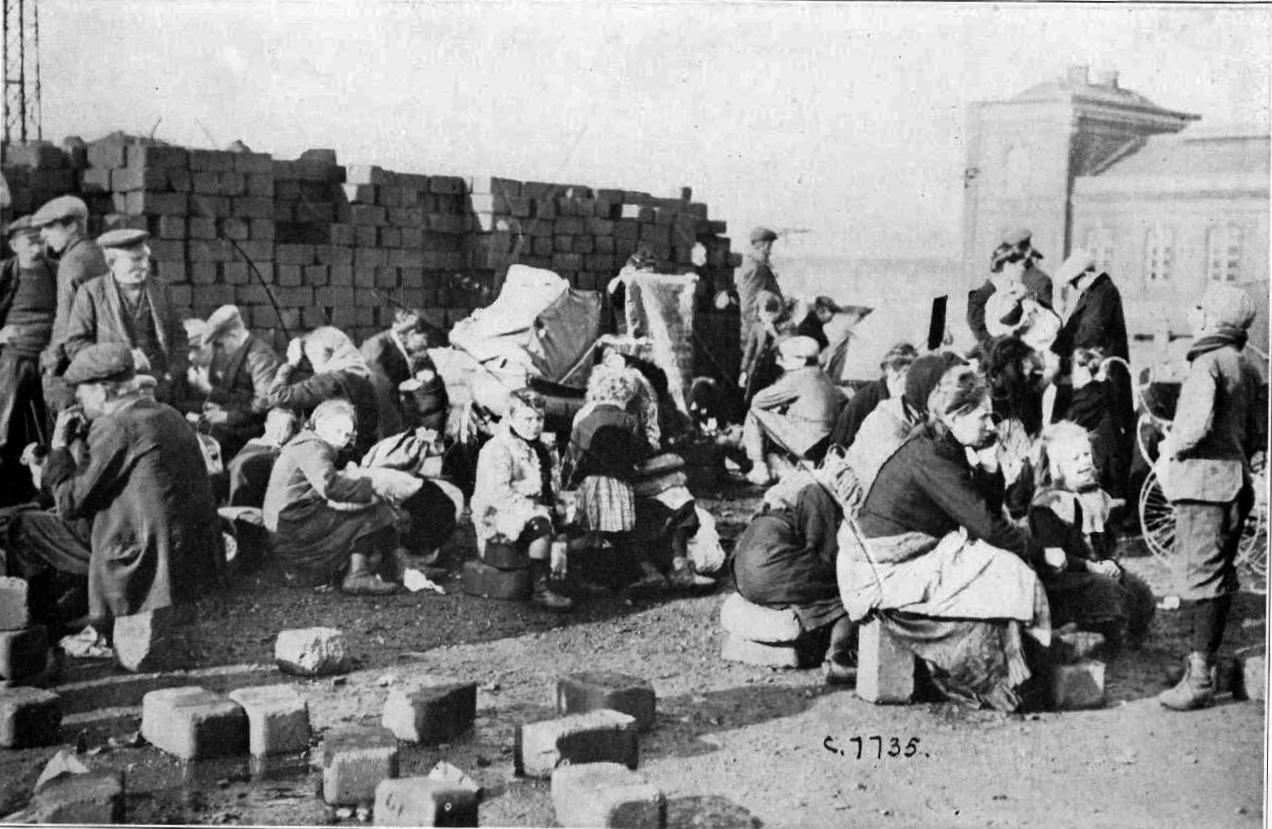Calais 14 18 variante refugies belges a calais