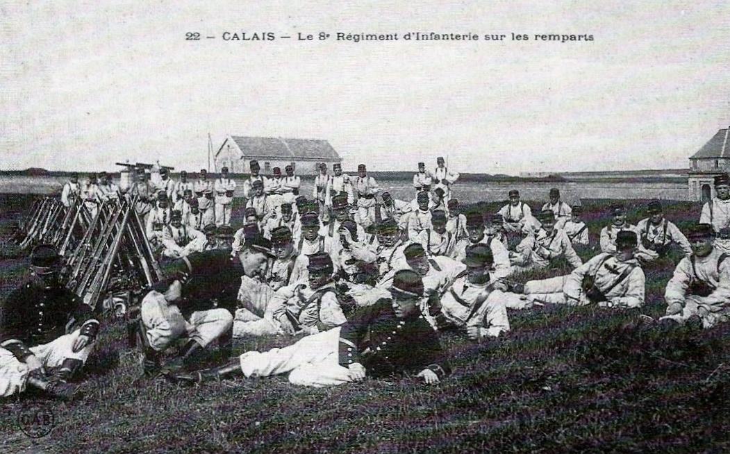 Calais 8 eme ri sur les remparts