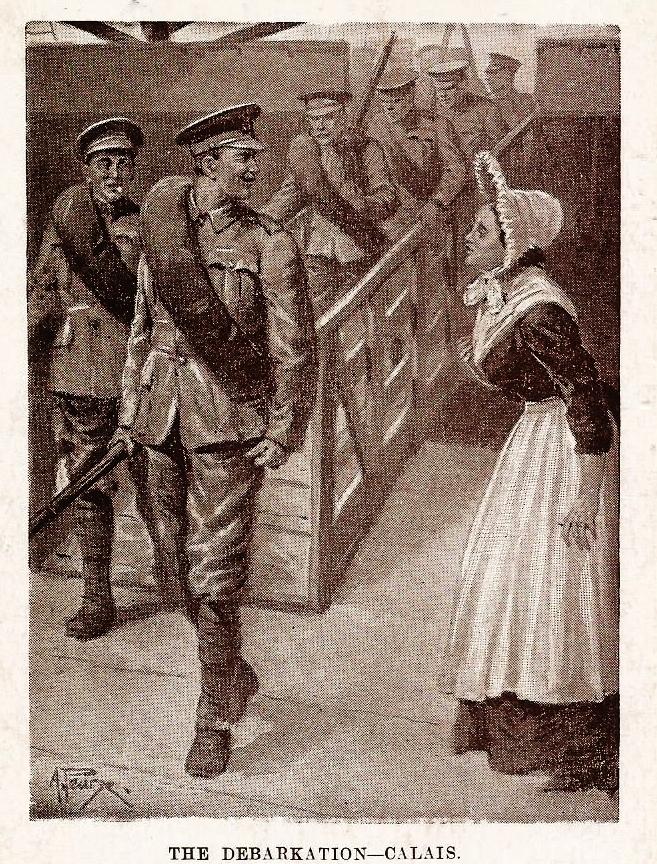 Calais courgain le debarquement des anglais 1914 1918 2