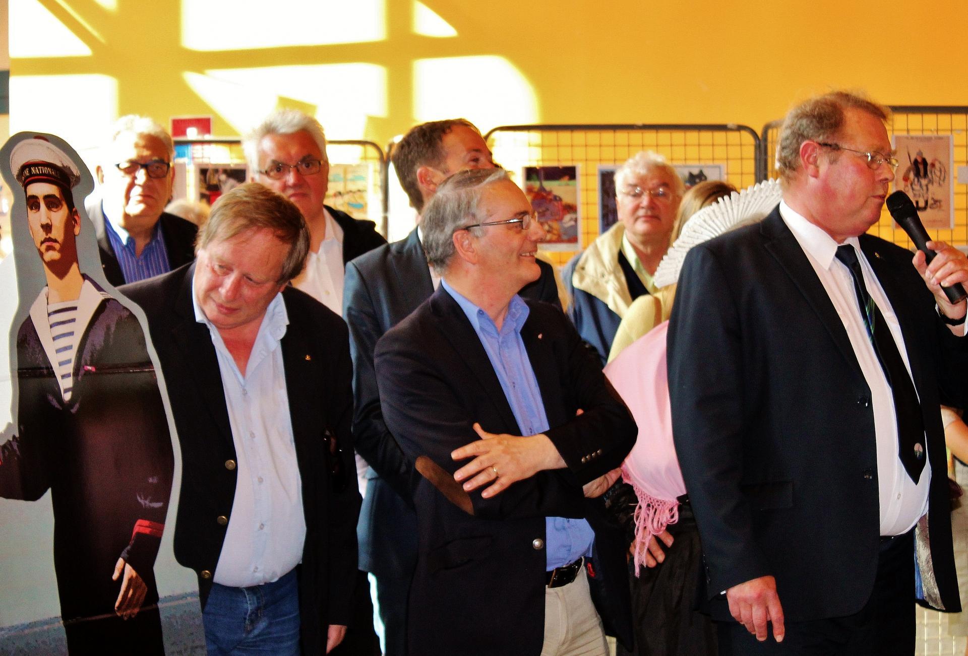 Calais exposition port de guerre 14 18 personnalites