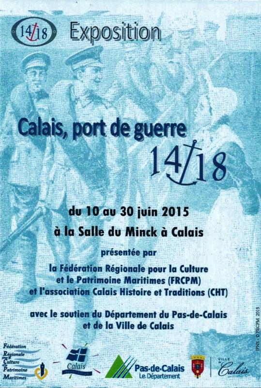 Calais la grande guerre 14 18 calais port de guerre