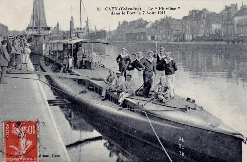 Calais le pluviose et son equipage