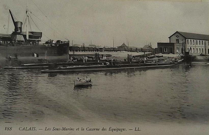 Calais les sous marins et caserne
