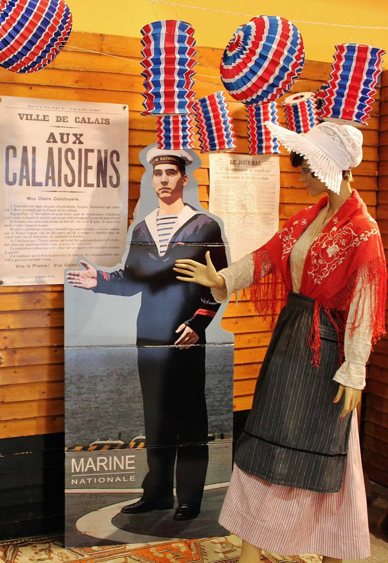 Calais pendant la grande guerre exposition 14 18