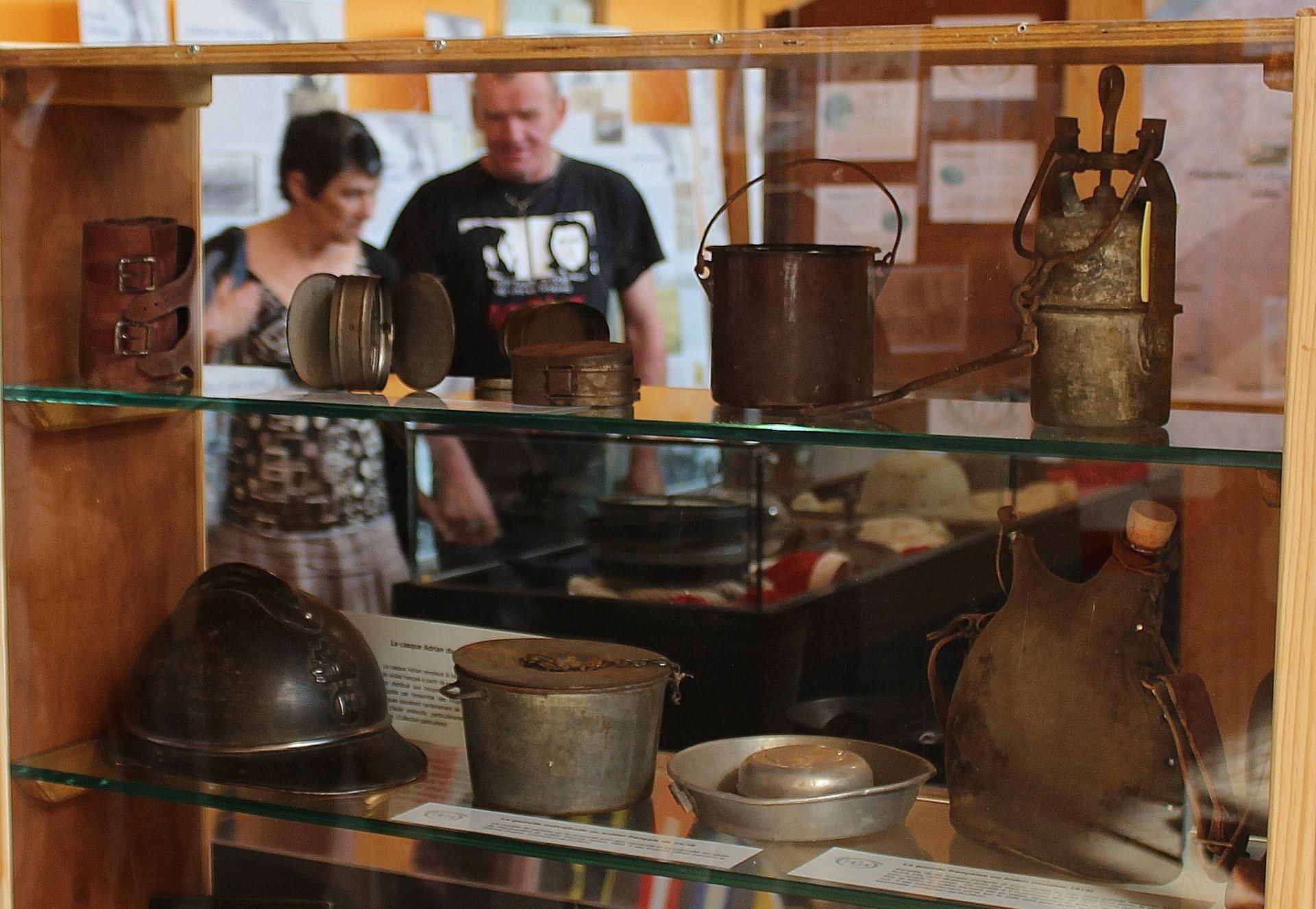 Calais pendant la guerre 14 18 objets du poilu