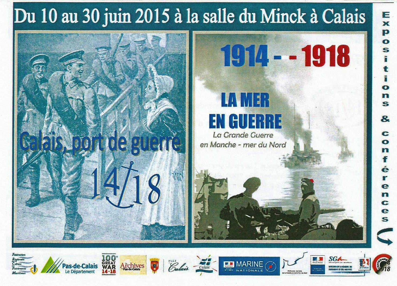 Calais port de guerre 14 18 et la mer en guerre