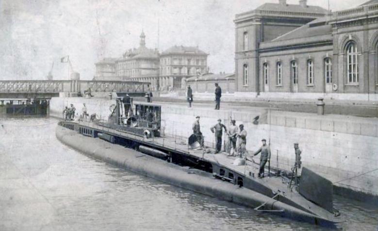 Calais sous marin 14 18