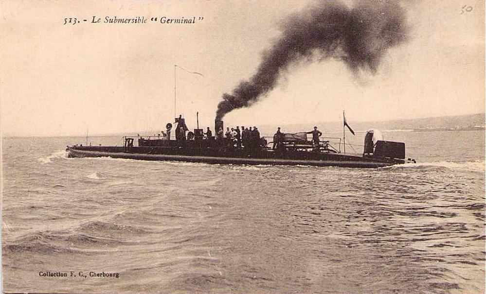 Calais sous marin submersible germinal