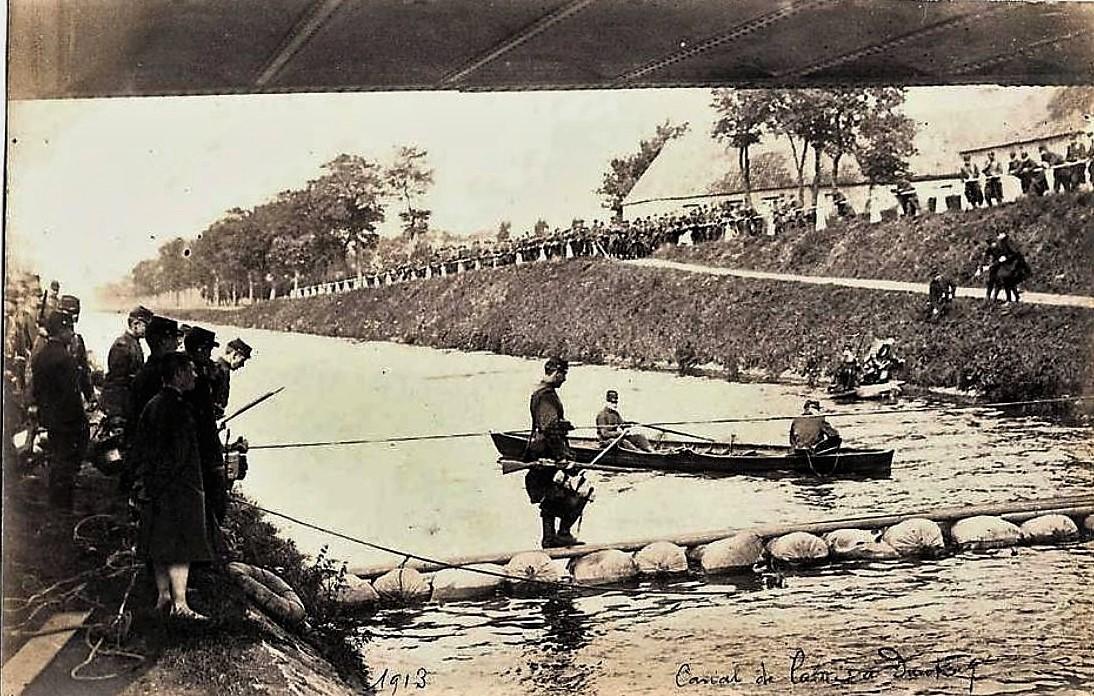 Calais ww1 manoeuvres sur le canal de calais a dunkerque